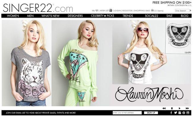 Интернет-магазин Singer22.com
