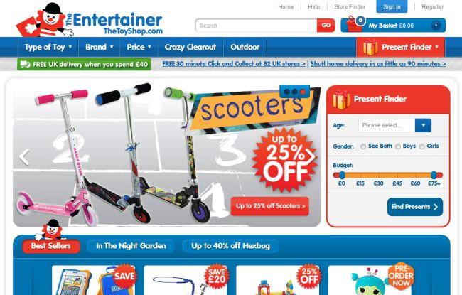 Интернет-магазин Thetoyshop.com