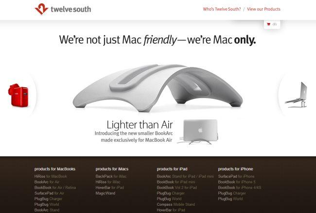 Интернет-магазин Twelvesouth.com