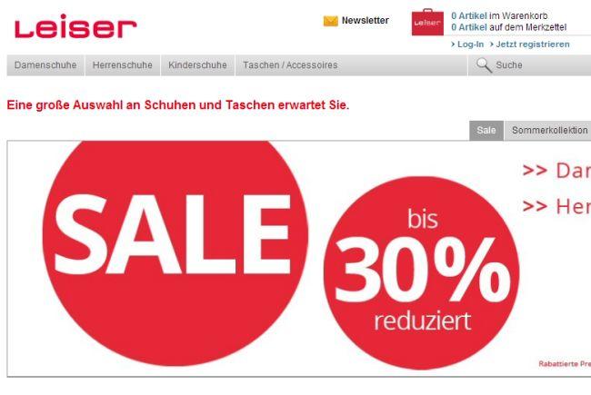 Интернет-магазин Leiser.de