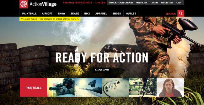 Интернет-магазин Actionvillage.com