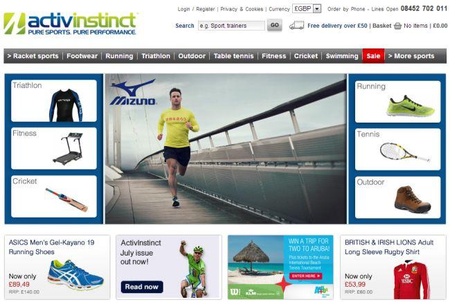 Интернет-магазин Activinstinct.com