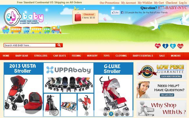 Интернет-магазин Anbbaby.com