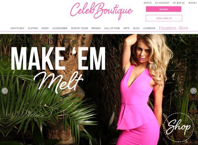 Интернет-магазин Celebboutique.com
