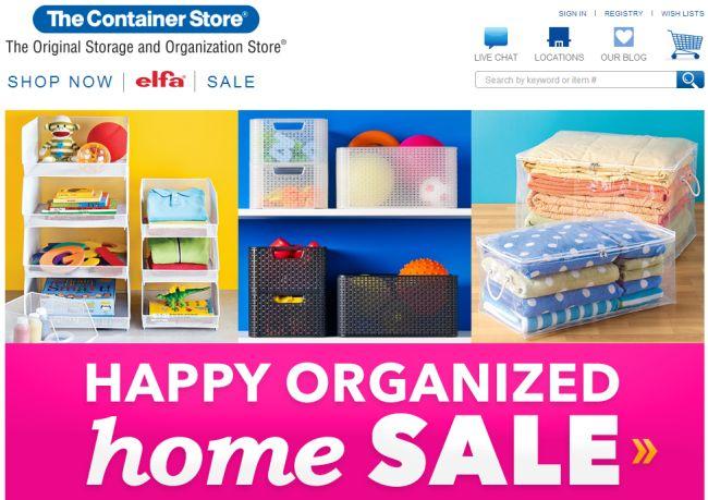 Интернет-магазин Containerstore.com