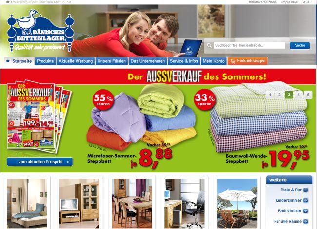 Интернет-магазин Daenischesbettenlager.de