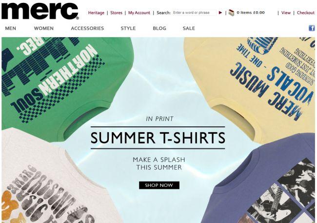 Интернет-магазин Merc.com