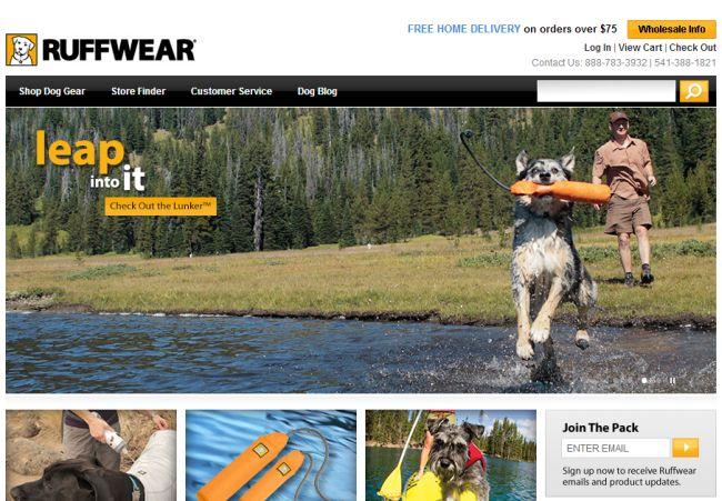 Интернет-магазин Ruffwear.com
