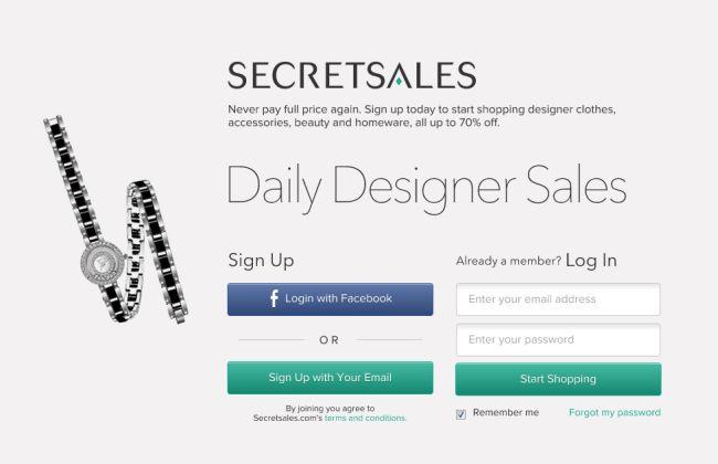 Интернет-магазин Secretsales.com
