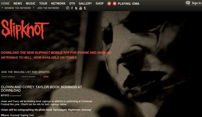 Интернет-магазин Slipknot1.com