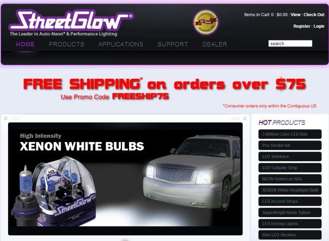 Интернет-магазин Streetglow.com