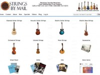 Интернет-магазин Stringsbymail.com
