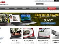 Интернет-магазин Toshibadirect.com