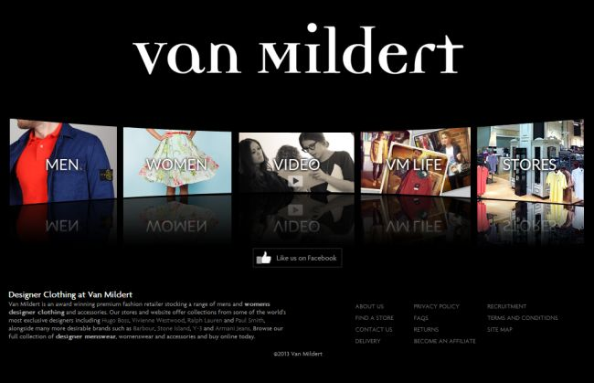 Интернет-магазин Vanmildert.com