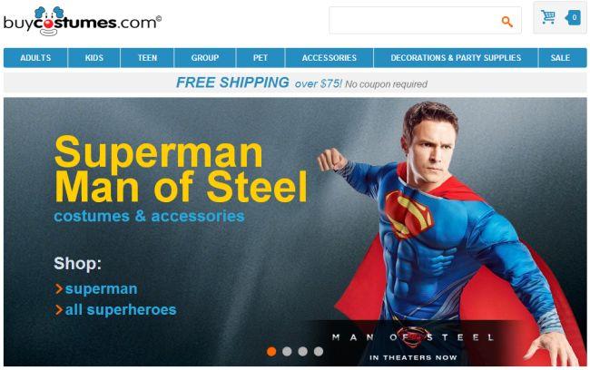 Интернет-магазин Buycostumes.com