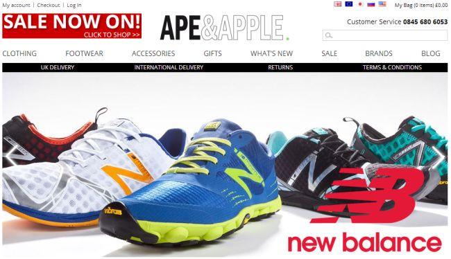 Интернет-магазин Apeandapple.com