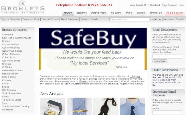 Интернет-магазин Classicwardrobe.co.uk