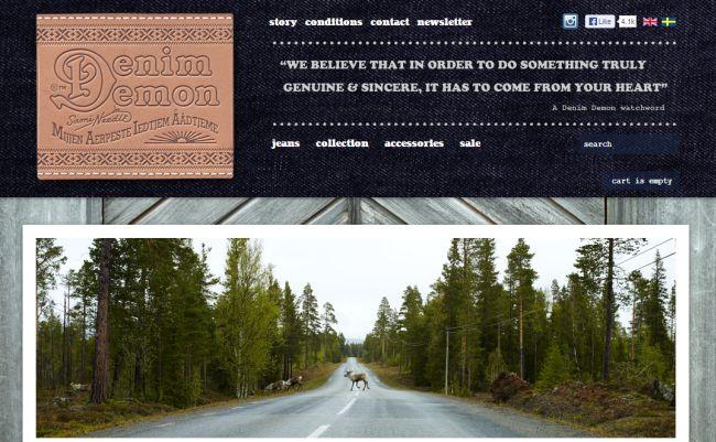Интернет-магазин Denimdemon.se