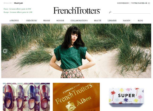 Интернет-магазин Frenchtrotters.fr