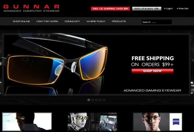 Интернет-магазин Gunnars.com