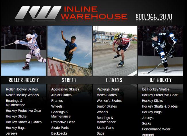 Интернет-магазин Inlinewarehouse.com