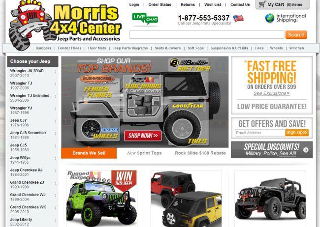 Интернет-магазин Jeep4x4center.com