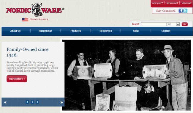 Интернет-магазин Nordicware.com