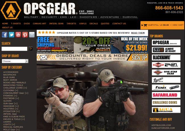Интернет-магазин OPSGear.com