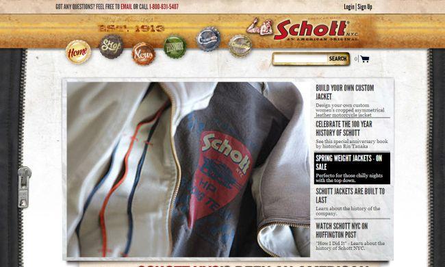 Интернет-магазин Schottnyc.com
