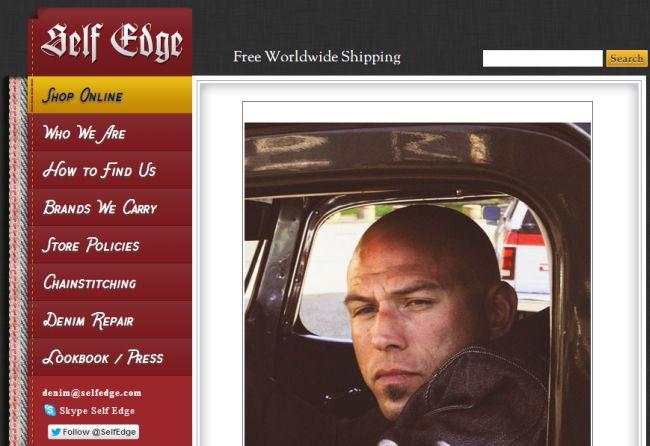 Интернет-магазин Selfedge.com