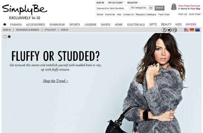 Интернет-магазин Simplybe.co.uk