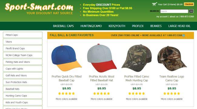 Интернет-магазин Sport-Smart.com