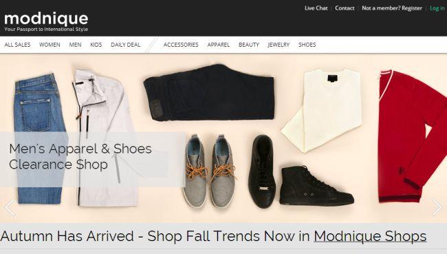Интернет-магазин Totsy.com