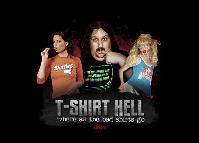 Интернет-магазин Tshirthell.com