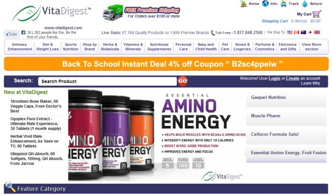 Интернет-магазин VitaDigest.com