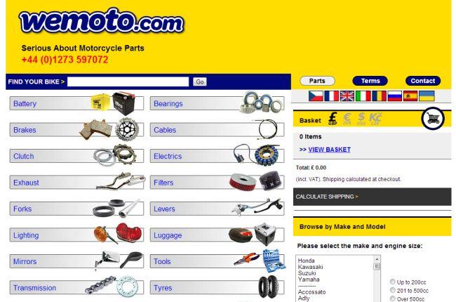 Интернет-магазин Wemoto.com