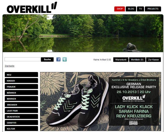 Интернет-магазин Overkillshop.com