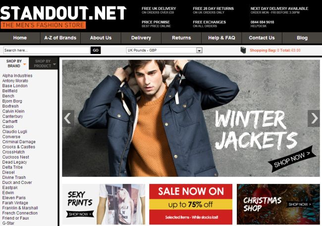 Интернет-магазин Stand-out.net