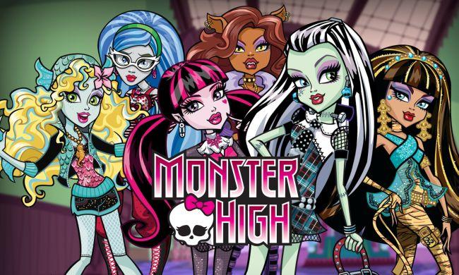 Куклы из Школы Монстров (Monster High