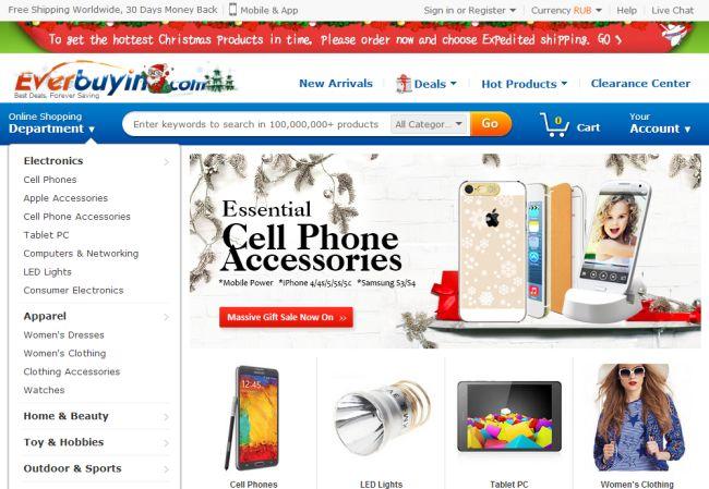 Интернет-магазин Everbuying.com