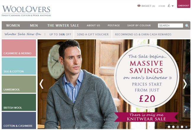 Интернет-магазин Woolovers.com