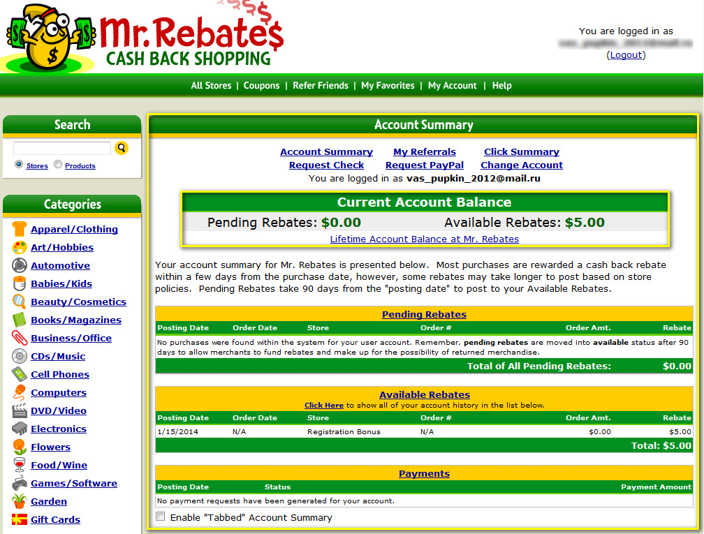 mrrebates.com - 9