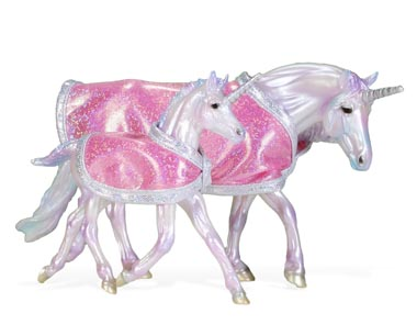 игрушечные лошади фирмы Breyer