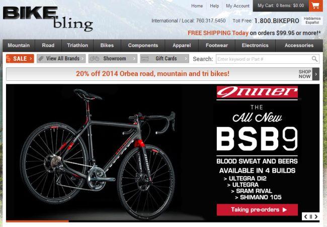 Интернет-магазин Bikebling.com