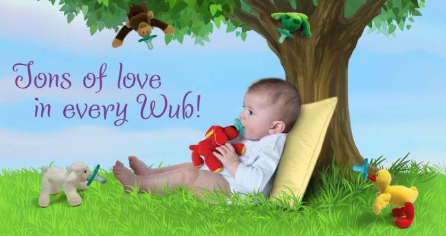 Детская соска Wubbanub