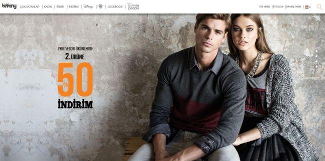 Интернет-магазин Tiffany.com.tr