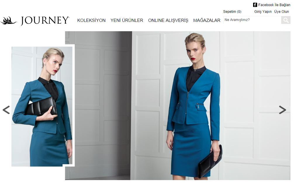 Интернет-магазин Journey.com.tr