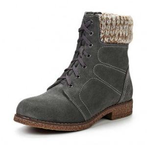 Стильные ботинки Evita серого цвета