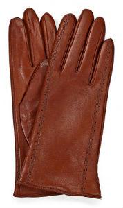 На фото коричневые перчатки Фабретти