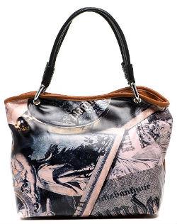 Фото — стильная вместительная сумка Flioraj